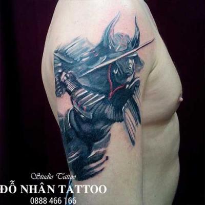 Hình xăm Samurai 110