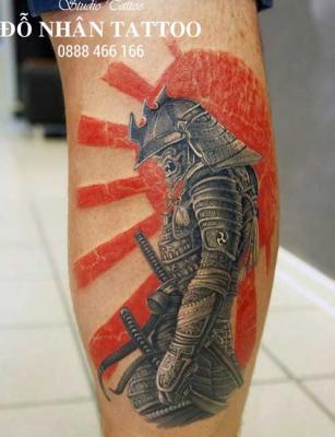 Hình xăm Samurai 114