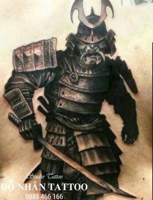 Hình xăm Samurai 75