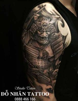 Hình xăm Samurai 8