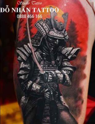 Hình xăm Samurai 88