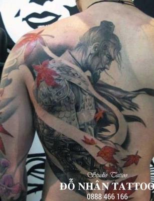 Hình xăm Samurai 93