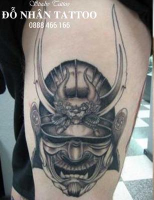 Hình xăm Samurai 95