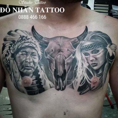 Hình xăm Thổ Dân 100