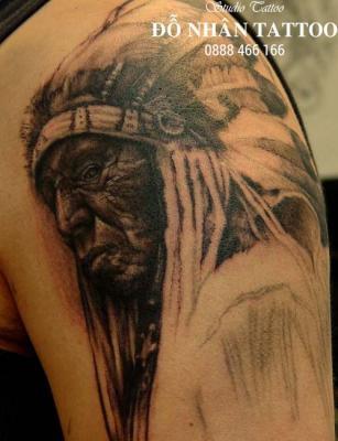 Hình xăm Thổ Dân 95